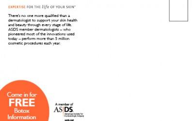 ASDS, Co-Brandable Postcard
