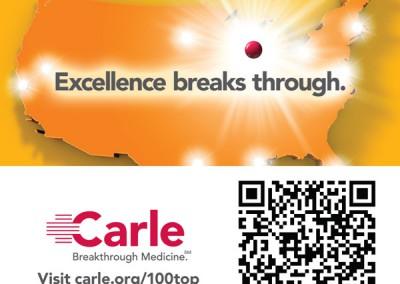 Carle, Print Ad
