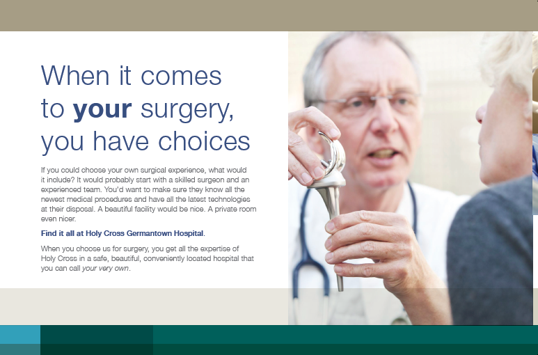 """My Surgery"" Direct Mail Piece"