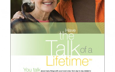 Have the Talk of a Lifetime, Co-Brandable Print Ad