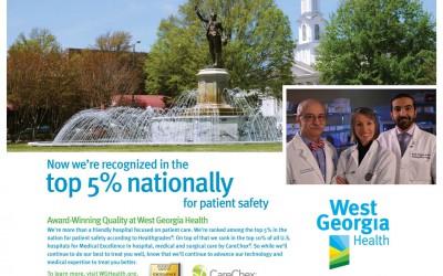 West Georgia Health, Quality Care, Print Ad