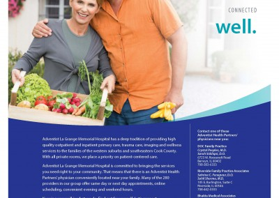 Adventist Health Partners, Print Ad