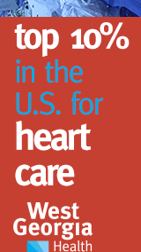 West Georgia Health, Cardiology Service Line, Banner Ad