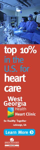 West Georgia Health, Cardiology Service Line, Banner Ad