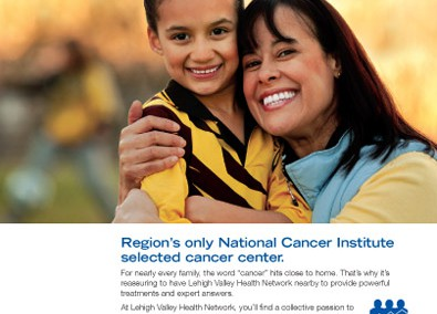 Lehigh Valley Hospital, Cancer Service Line Print Ad