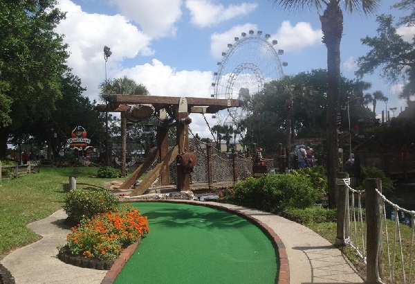 Pirates Cove Mini Golf