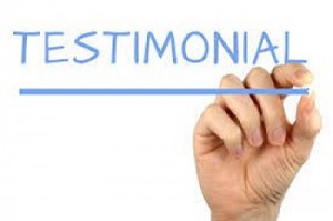 Testimonials in Healthcare